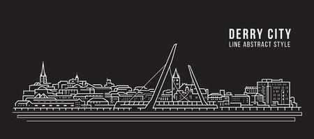Cityscape Building Line art Stockfoto - 123928436