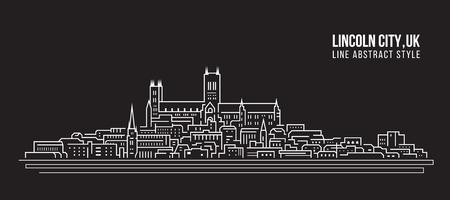 Cityscape Building Line art Stockfoto - 123928442