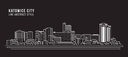 Stadtbild Gebäude Linie Kunst