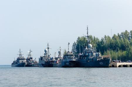 Thailand Battleships