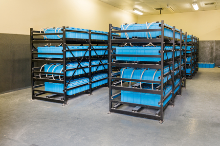 Battery room, Room used to backup or uninterruptible power electricity and energy storage system in telecommunication center, Power Plant, Substation, Control center and Important industrial.