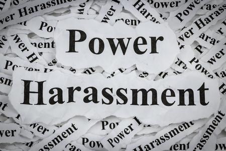 Harcèlement de pouvoir