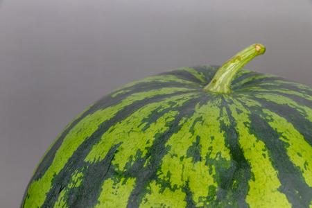 A fresh watermelon
