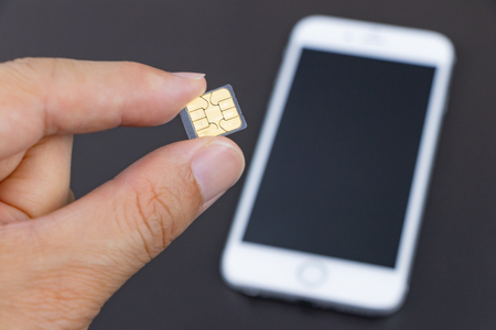 Smartphone and SIM card