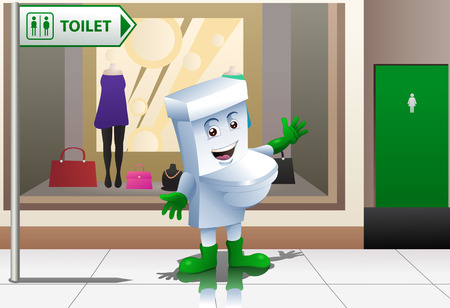 the toilet figure