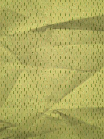 crumpled paper texture: Vintage green wrapping paper with dashes on crumpled paper texture