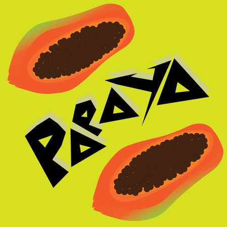 papaya: papaya Wallpaper