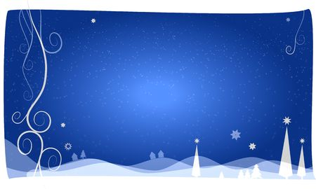beautiful christams background light blue Stock Photo - 5771226