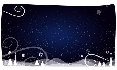 christams: christams background dark blue night Stock Photo