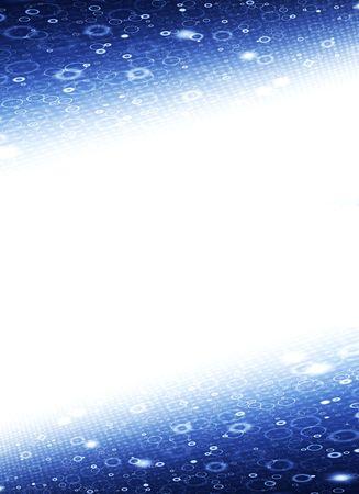 blue futuristic disco background Stock Photo