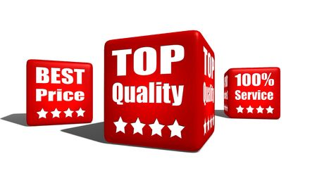 top quality best price full service cubes Stock Photo