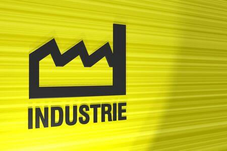industrie: 3d sign industrie