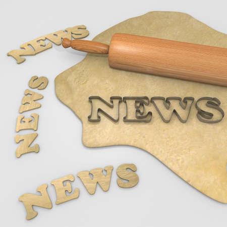 cookie cutter:  news bake disco background
