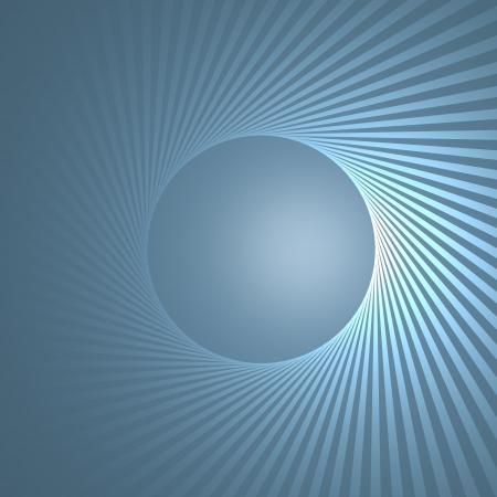 beau: stripes  circular disco