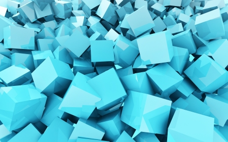 extreme chaos cubes Stock Photo - 16662890