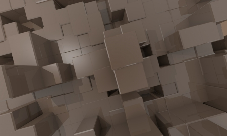cube structur Stock Photo - 17407818