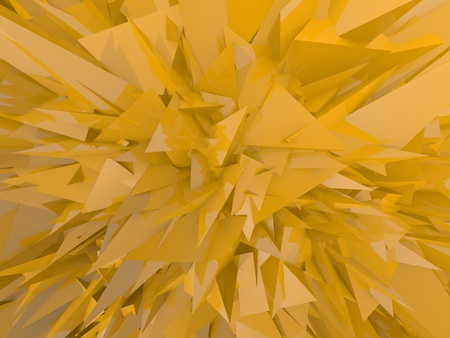 yellow chaos emotional background Stock Photo - 17407878