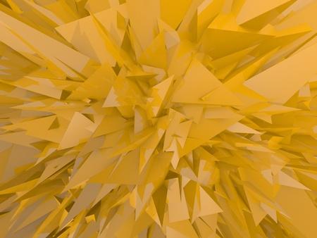 yellow chaos emotional background Stock Photo - 17407878
