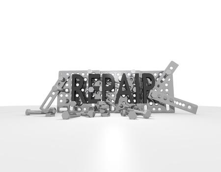 repair mechanics Stock Photo - 17407864