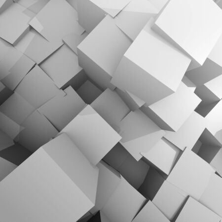 cube background Medium taupe   Stock Photo - 17550881