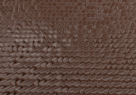 zinnwaldite brown: brown soft blob 3d background