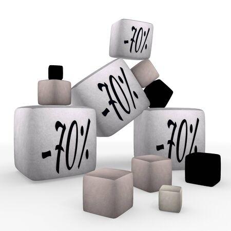 tiny:  tiny -70  symbol cubes