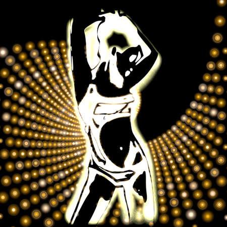 modern rave disco background Stock Photo - 17578905