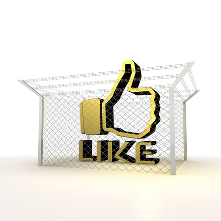 Mikado yellow  arrest 3d graphic with barbed like symbol Stock Photo - 18289721