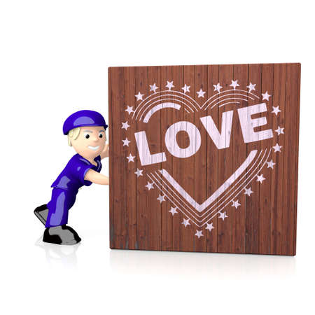 popping: White  popping usa 3d graphic with 3d heart with stars icon  on delivered box