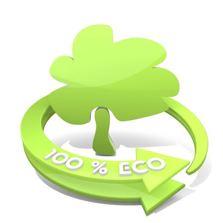 autumnn: White  nice wood 3d graphic with smooth abstract tree symbol  a 100 percent eco Stock Photo