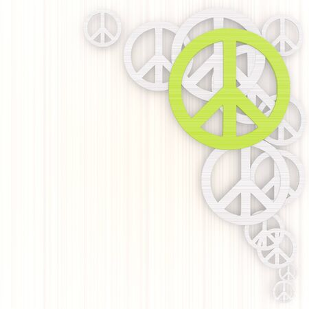 gradiant: 3d graphic with harmful peace Illustration with pictogram