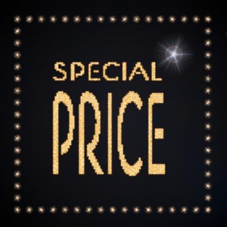 deduction: Black  magic deduction 3d graphic with magic special price symbol glittering golden