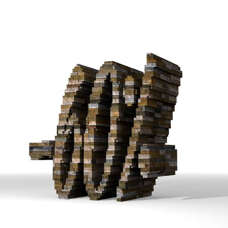 smoky black: Smoky black  solid price reduction 3d graphic with strong discount sign  built out of stones