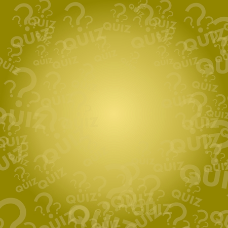 quiz sign background with space for own text photo