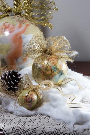 classic Christmas decorations 版權商用圖片