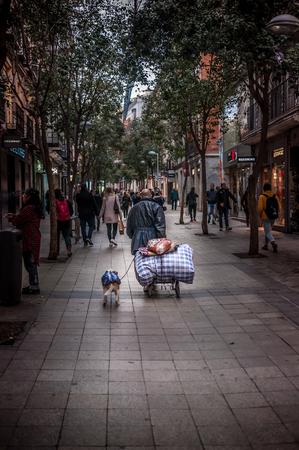 City of Madrid, Spain. Europe. December, 14. 2017.