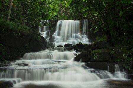 Mundaeng Waterfall, Thailand Stock Photo - 10962686