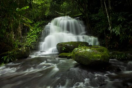 eravan: Mundaeng Waterfall, Thailand