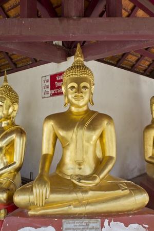 nu: Portrait of a Buddha statue, Wat Phra Si Mahathat ,Phit Sa Nu Lok ,Thailand