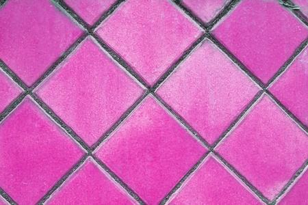 tiles floor: pink mosaic tiles floor