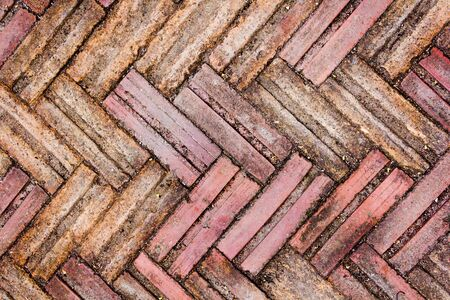 solidity: The bricks were laid in zigzag style