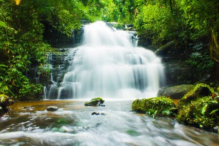 Mundaeng Waterfall, Thailand Stock Photo - 14190387