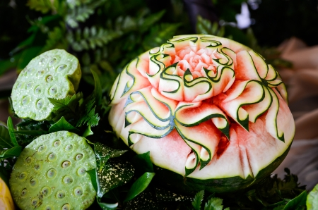 Watermelon Carving photo