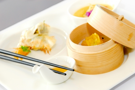 dim sum set Stock Photo - 14820907