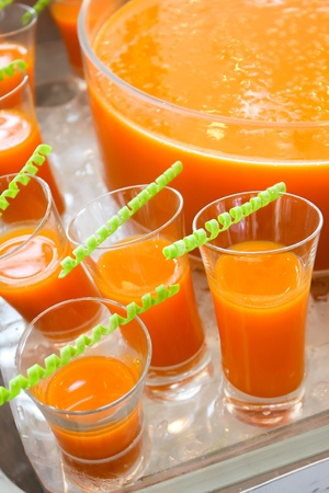 tropical drink: Fruits punch for the cocktail party