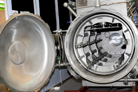 Tumble dryer machine in industrial Stock Photo - 15550951