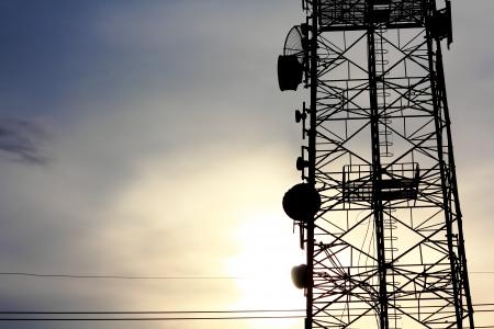 data transmission: Antenna Tower of Communication