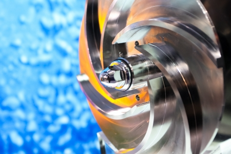 Spare part in the manufacturing industry Standard-Bild