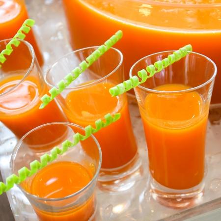 Früchte Punsch für die Cocktail-Party Lizenzfreie Bilder