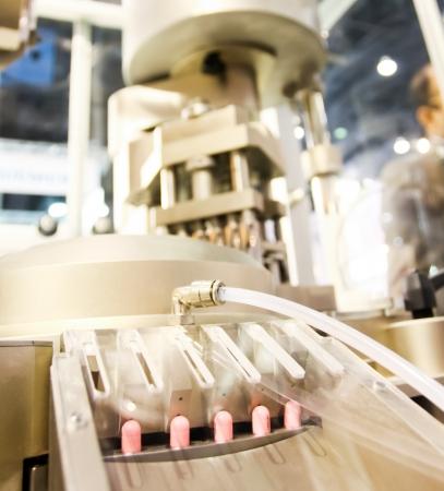 Pharma-Medizin-Kapseln in der Industrie